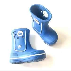 CROCS Toddler Pull On Waterproof Rain Boots